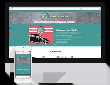 Creation du site e-commerce Flight-38 à Romans