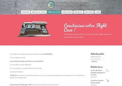 page boutique en ligne flight-38 romans