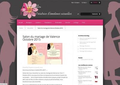 Création du site internet boutique en ligne à valence