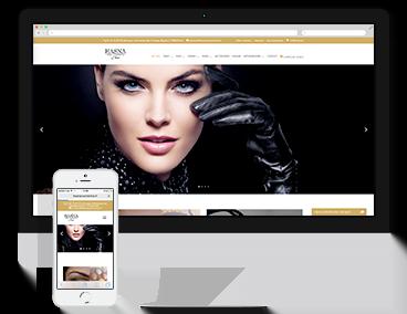 Création du site e-commerce Hasna Cosmetics à Paris