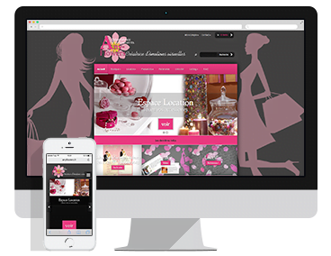 Création du site e-commerce Anyflowers à Valence