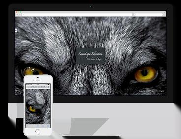 Création du site vitrine Canis Lupus à Grenoble
