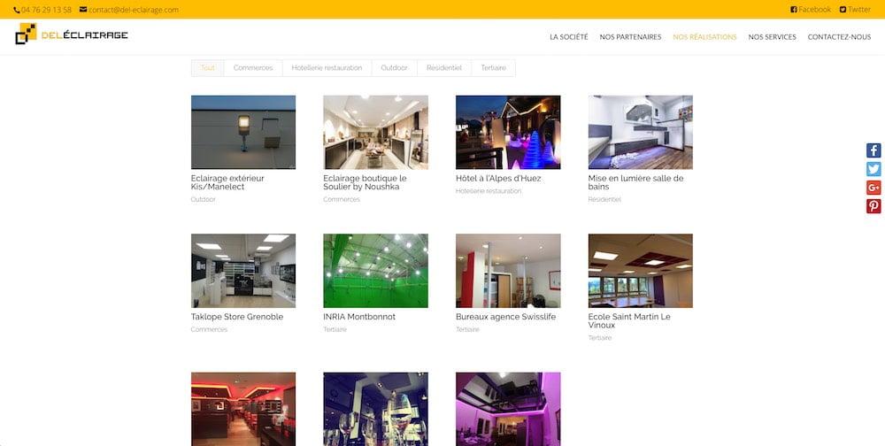 Refonte Site Vitrine Grenoble Le Studio 404